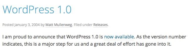 Usare WordPress