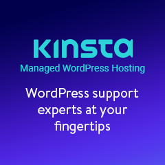 Kinsta Hosting WordPress Gestito - Powered by Google Cloud Platform