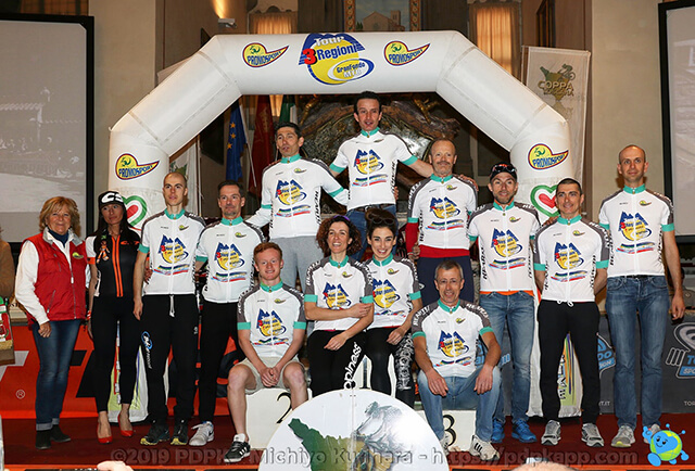 Tour 3 Regioni Gran Fondo MTB - Leaders dopo la seconda prova a Cortona (AR)
