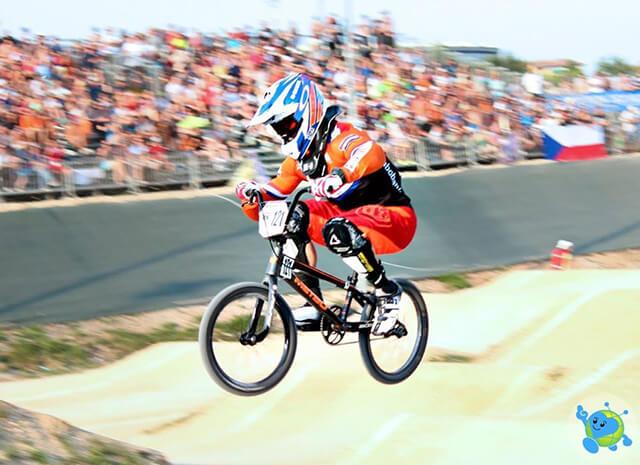 2016 UEC BMX European Championships - Raymon Van Der Biezen