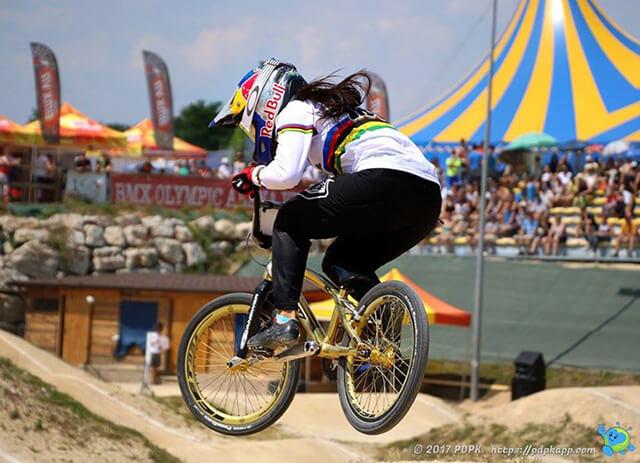 UEC BMX European Cup 2017 - Mariana Pajon